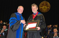Bullamore '71 Receives Frostburg State University President's Distinguished Faculty Award