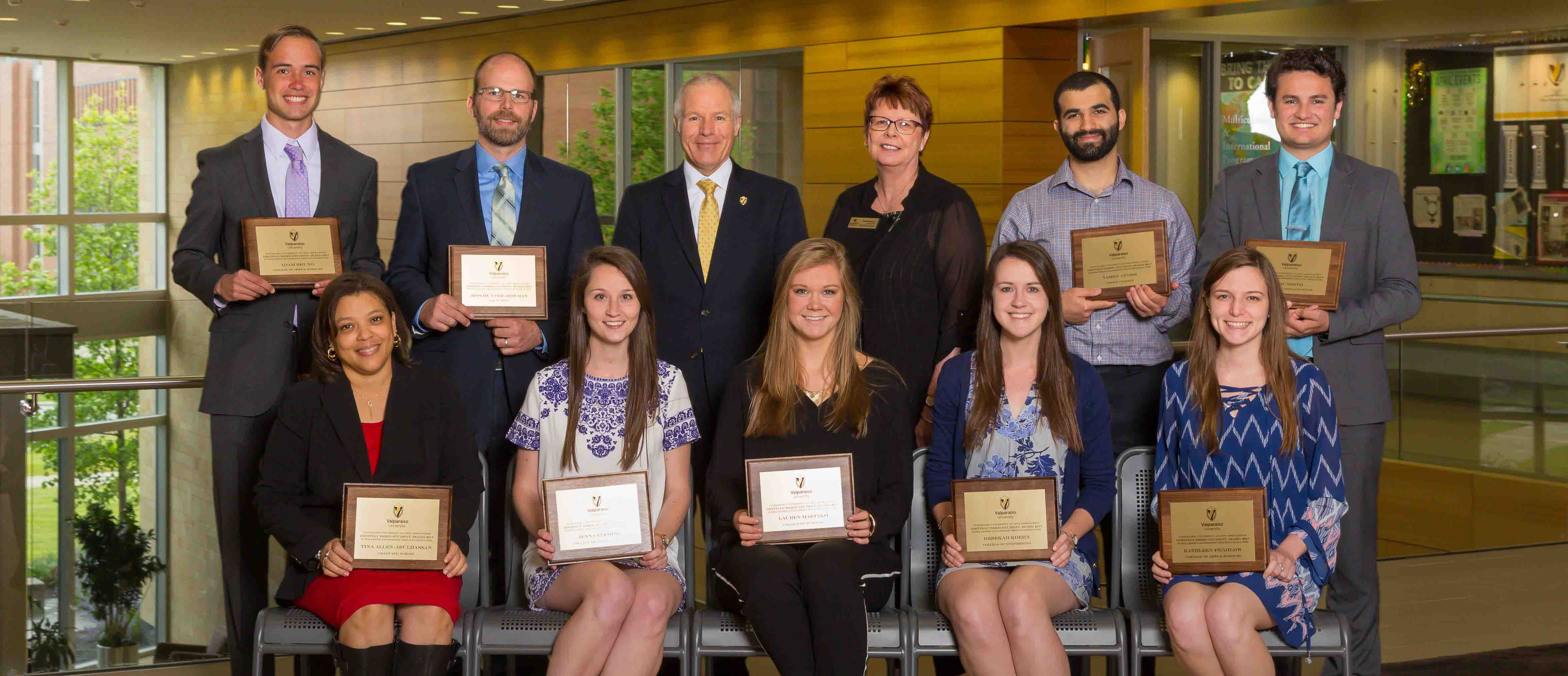 Congratulations to our 2017 VUAA Distinguished Student Award Recipients